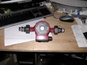 erste Teile für WAKÜ zu Hause hier die Pumpe :D