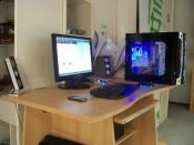 Mein Schreibtisch :-)