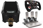 Fanatec Podium Wheel Base DD1, ClubSport Formula V2, Heusinkveld Sim Pedals Sprint
