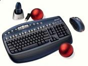 Nur die Tastatur - die Maus wurde...