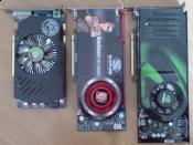 GTS250, HD4890, 8800GTX