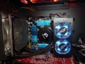 Innenansicht - CPU-Bereich